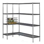Picture of Airdeck Nylon Wire Shelving Bays with 4 Shelves