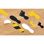 Picture of Anti-slip Feet Floor Graphic Stickers