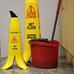 Picture of Banana Wet Floor Safety Cones (Pack of 3)