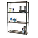 Picture of Black Anodised Wire Shelving
