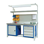 H/D basic Workbench, Beech Worktop