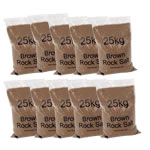 Picture of Bulk Brown Rock Salt, Bags of 25kg
