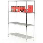 Chrome Shelving Bays