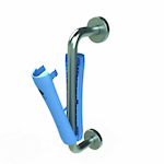 Picture of Clip-On Hygienic Antibacterial Pull Door Handle
