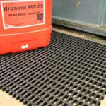 Picture of Cobamat Heavy Duty PVC Matting with 22mm x 10mm holes - per roll