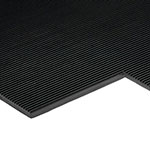 Ribbed Rubber Electrical Safety Matting 3mm Thick - Price Per Metre