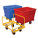 Picture of Colour Codeable Container Trucks 370 litre capacity