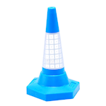 Picture of Coloured Cones With Reflective Sleeves
