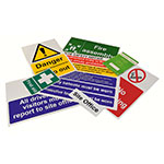 Construction Site Sign Packs, sign packs