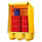 Covered IBC Containment Pallets
