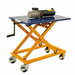 Picture of Crank Operated Lifting Table with 300kg Capacity