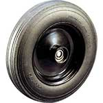 Cushion tyred wheel