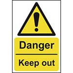 Picture of Danger Keep Out Sign