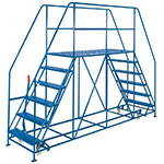 Picture of Double Side Access Platforms 3 to 10 treads, 1.6m platform Depth