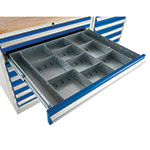 Drawer Dividers for Euroslide 900 Cabinets