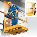 Picture of Economy Forklift Platform Attachment