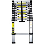 Economy Telescopic Ladder with 11 or 13 Treads