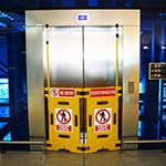 Picture of Elevator/Lift Guard Safety Barriers