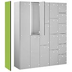 Picture of End Panels For Probe Zenbox Aluminium Lockers