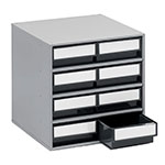 Picture of ESD Small Parts Storage - Medium Cabinet with Steel Housing