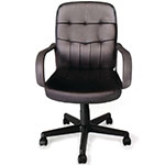 Picture of Executive Leather Office Chair with Tilt, Recline and Armrests