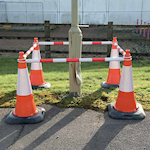 Picture of 2.2m Extendable Barrier Pole