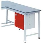 Extension workbench, Laminate top
