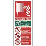 Picture of Fire Hose Reel Sign