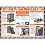Picture of First Aid For Construction Sites Poster