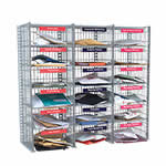 Picture of Flexibuild 18 Compartment Mail Sorting Unit in Mesh