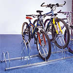 Picture of Floor or Wall fix Bike Racks for 5 Bikes