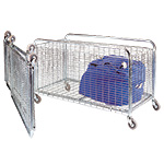 Picture of Folding Container / Cage Trolleys 100kg or 150kg cap
