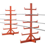 Picture of Freestanding Fixed Arm Bar Racks