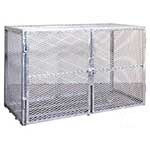 Enclosed Galvanised Security Cage