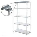 Galvanised Steel Shelving Bays