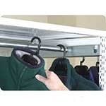 Stormor shelving accessory garment hanging rail