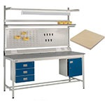 General Purpose BQ Workbench with Beech Top with FREE UK Delivery