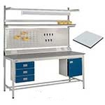 Square Tube Workbench, MCF Top
