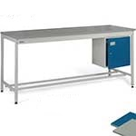 Square tube Workbench, Norstat Worktop
