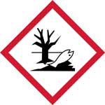Picture of GHS Environmentally Damaging Pictogram Labels