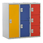 Picture of Half Height Lockers