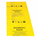 Picture of Hazardous Waste  Disposal Bags and Ties