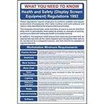 Picture of Health & Safety (Display Screen Equipment) Regulations Sign