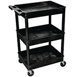 Heavy Duty 3 Tier Plastic Trolleys