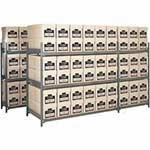 Picture of Heavy Duty Archive Storage Shelving 6 Boxes High
