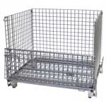 Picture of Heavy Duty Folding Cage Pallets