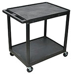 Picture of Heavy Duty Two Tier Plastic Trolley