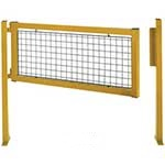 Picture of Hinged Gates for Pedestrian Safety Barriers