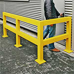 Picture of Heavy Duty Impact Protection Railing