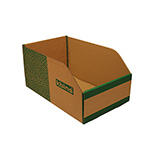 Picture of K-Bins - B Range Fibreboard Jumbo Shelf Bins